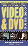 Mick Martin: Video & DVD Guide 2003 (Video and DVD Guide, 2003)