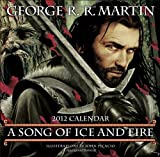 Martin, George R.R.: A Song of Ice and Fire 2012 Calendar