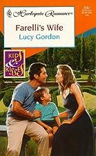 Farelli's Wife by Lucy Gordon