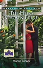The Heir's Chosen Bride by Marion Lennox