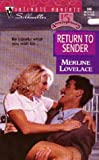 Merline Lovelace: Return to Sender (Silhouette Intimate Moments #866)