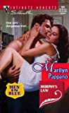 Marilyn Pappano: Murphy'S Law: (Men In Blue) (Silhouette Intimate Moments)