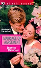 Marriage of Agreement by Judith Duncan