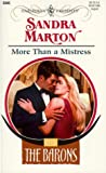 Marton, Sandra: More Than a Mistress
