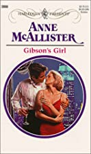 Gibson's Girl by Anne McAllister