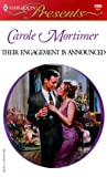Mortimer, Carole: Their Engagement Is Announced