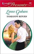 Damiano's Return by Lynne Graham