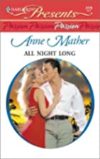All Night Long by Anne Mather