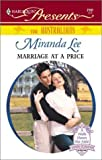 Lee, Miranda: Marriage at a Price