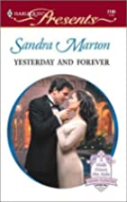 Yesterday and Forever by Sandra Marton