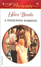 A Whirlwind Marriage by Helen Brooks