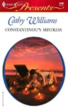 Constantinou's Mistress by Cathy Williams