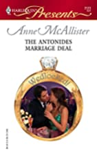 The Antonides Marriage Deal by Anne…