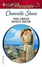 The Greek Boss's Bride by Chantelle Shaw