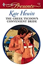 The Greek Tycoon's Convenient Bride by Kate…