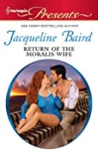 Return of the Moralis Wife by Jacqueline…