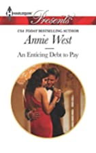 An Enticing Debt to Pay by Annie West