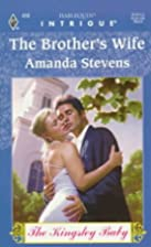The Brother's Wife by Amanda Stevens
