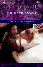 Private Vows by Sally Carleen