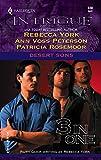 York, Rebecca: Desert Sons: LukeTomRico (Harlequin Intrigue)