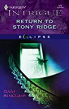 Return to Stony Ridge by Dani Sinclair