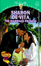 The Marriage Promise by Sharon De Vita
