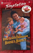 Boone's Bounty by Vicki Lewis Thompson