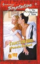 Fiancé for Hire by Pamela Burford