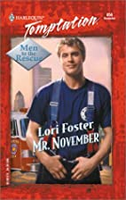 Mr. November (Men To The Rescue) (Harlequin…