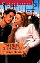 The Return of Luke McGuire by Justine Davis