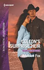 Colton's Surprise Heir (The Coltons of…