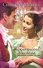 The Inconvenient Duchess by Christine…