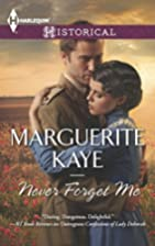 Never Forget Me (Harlequin Historical) by…