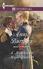 A Mistress for Major Bartlett by Annie…
