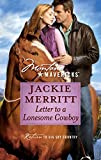 Merritt, Jackie: Letter to a Lonesome Cowboy (Montana Mavericks)