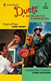 Isabel Sharpe: 2 Romantic Comedies: Tryst of Fate / Counterfeit Cowboy (Harlequin Duets, No. 32)
