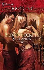 Blood Secrets (Silhouette Nocturne) by Vivi…