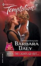 When the Lights Go Out by Barbara Daly