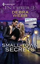 Small-Town Secrets (Harlequin Intrigue…