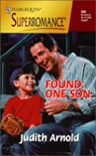Found: One Son by Judith Arnold