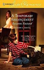 A Temporary Arrangement (Harlequin…