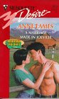 Marriage Made in Joeville by Anne Eames