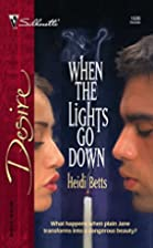 When the Lights Go Down by Heidi Betts