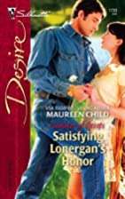 Satisfying Lonergan's Honor by Maureen Child