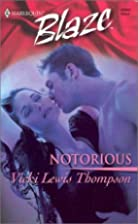 Notorious by Vicki Lewis Thompson