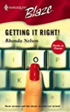 Getting It Right! by Rhonda Nelson