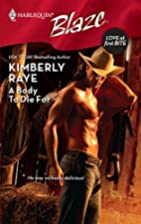 A Body to Die For by Kimberly Raye