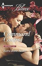 Command Control by Sara Jane Stone