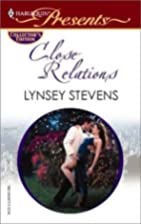 Close Relations by Lynsey Stevens
