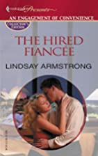 The Hired Fiancée by Lindsay Armstrong